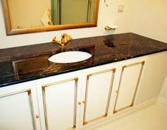 Столешница в ванную комнату nero oriental столешница мозаика 176